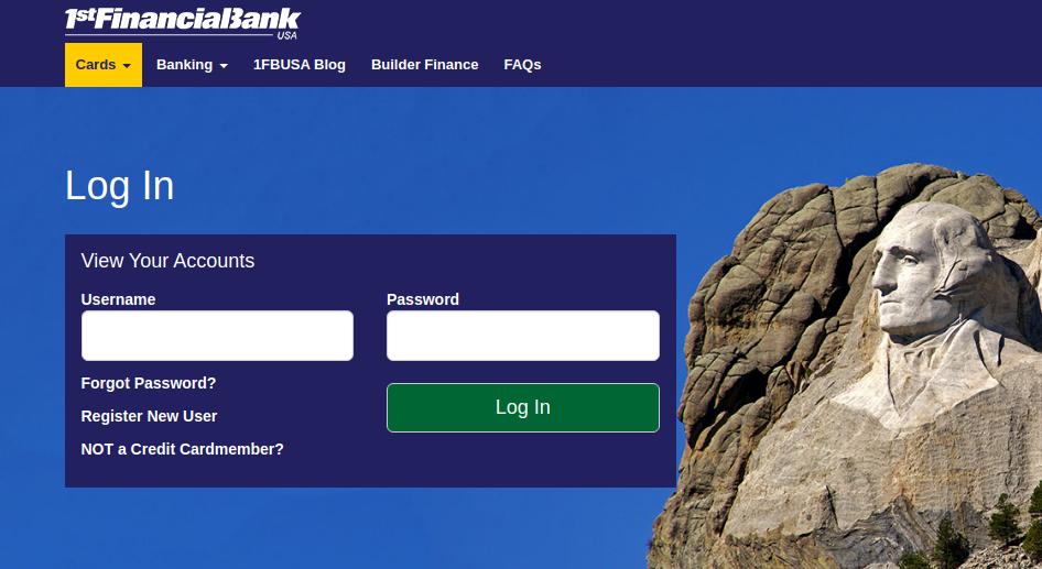 1FBUSA Bank Logo