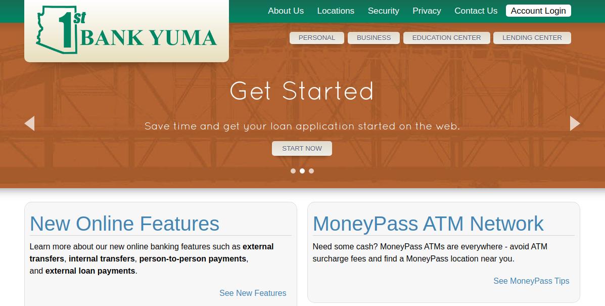 1st Bank Yuma Logo