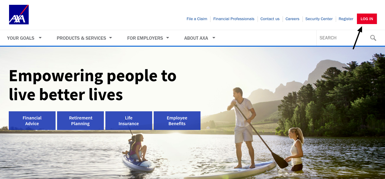 AXA Life Insurance Login
