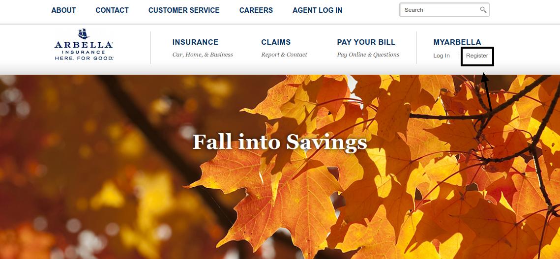 Arbella Insurance Register