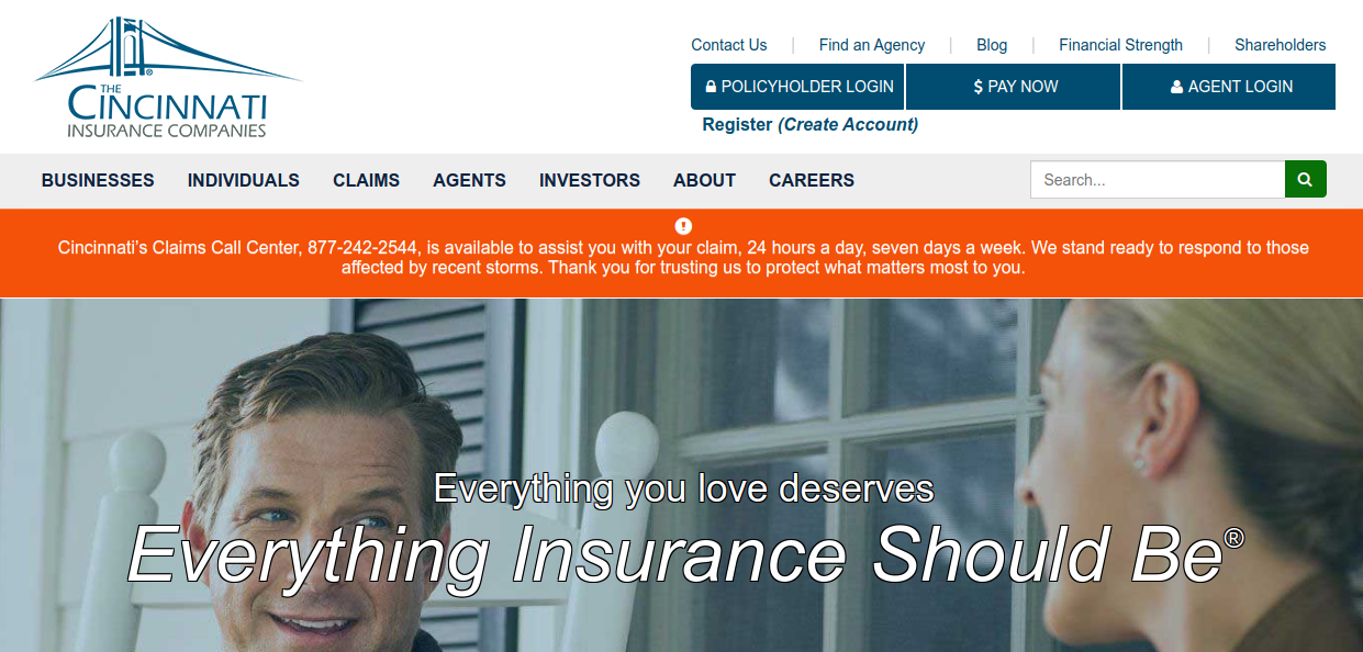 www.cinfin.com - Cincinnati Insurance Account Login Process