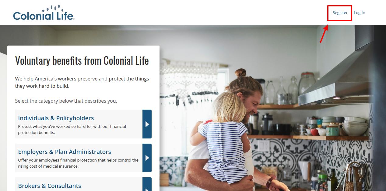 Colonial Life Insurance Register