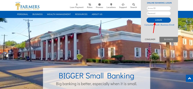 Farmers National Bank Login