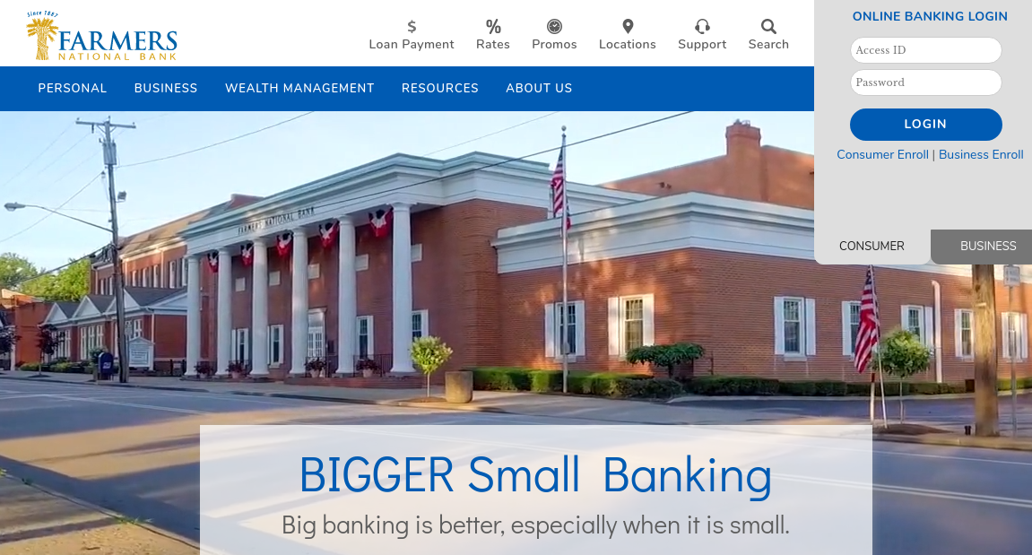Farmers National Bank Logo