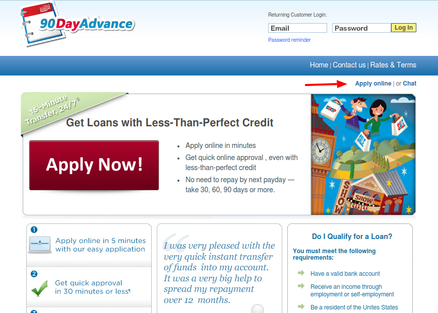 90 Day Loans Apply