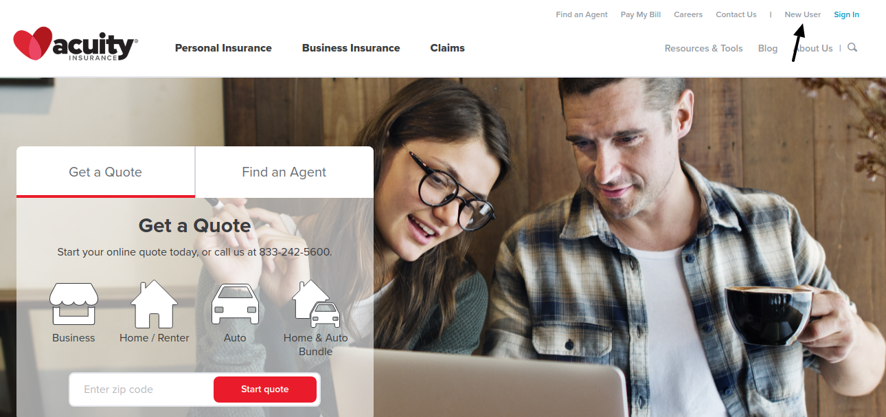 Acuity Insurance New User