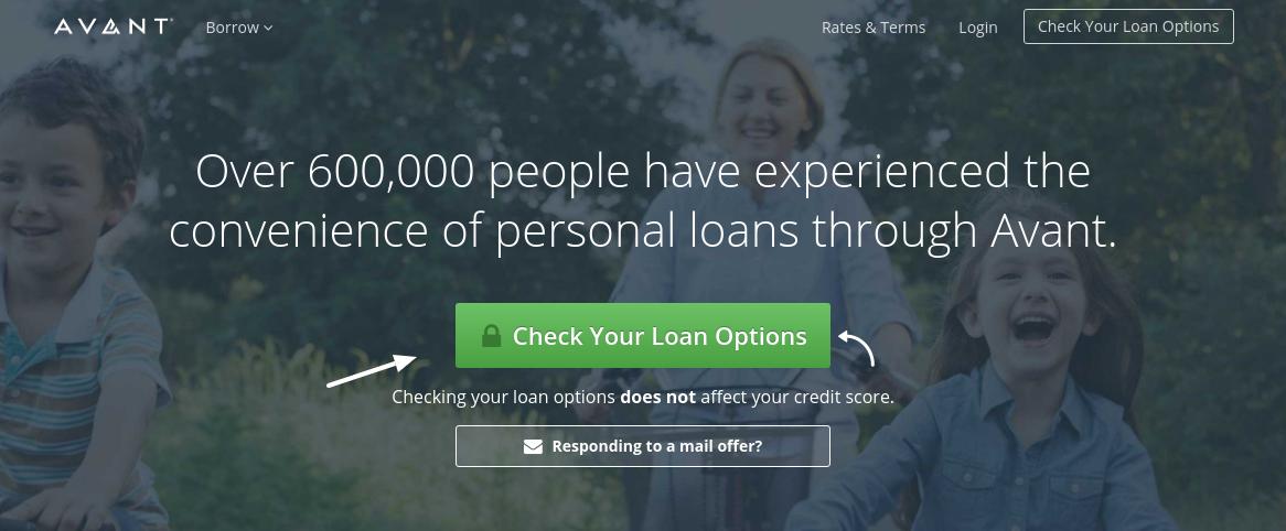 Avant Check Loan