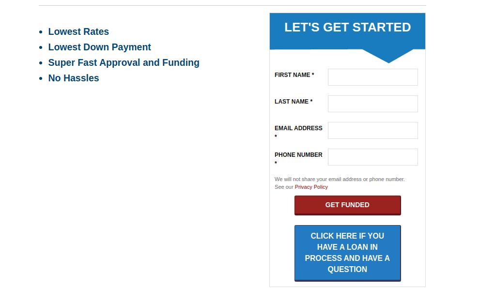BridgeWell Capital Loan Apply