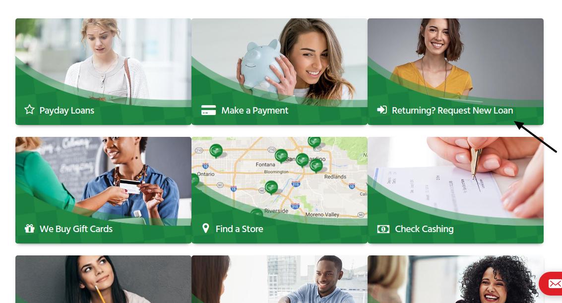 Cashback Loan Request New Loan