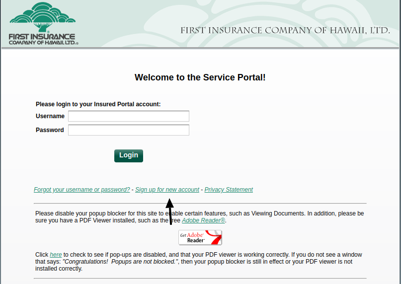 First Insurance Register