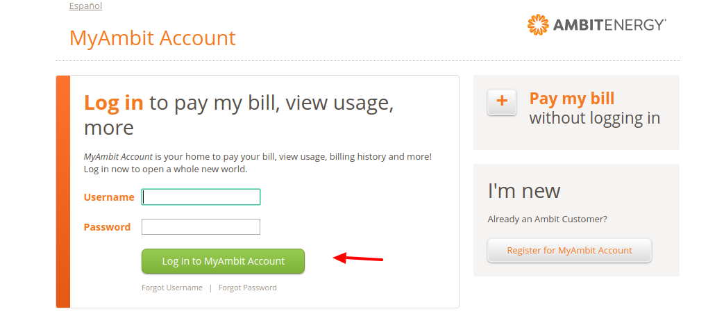MyAmbit Account Login