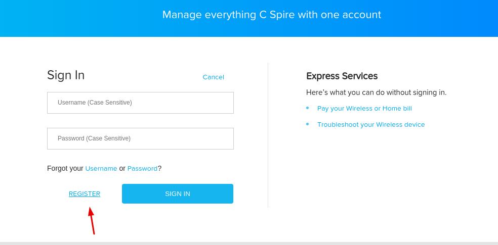 C Spire Register