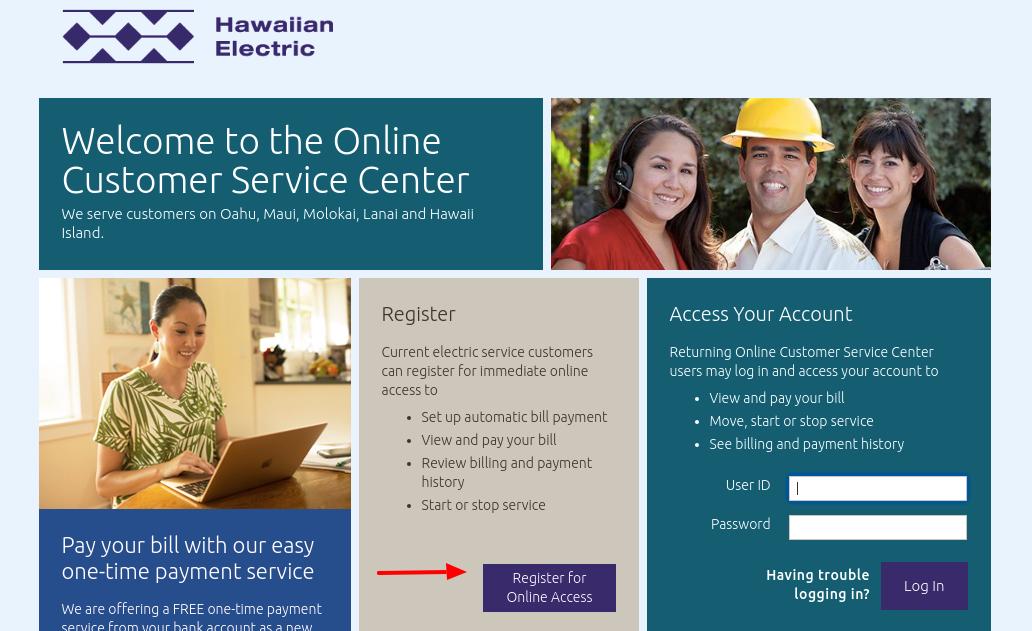 Hawaiian Electric Register