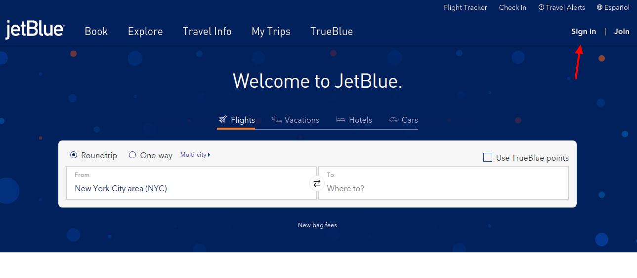 JetBlue Crdit Card Login