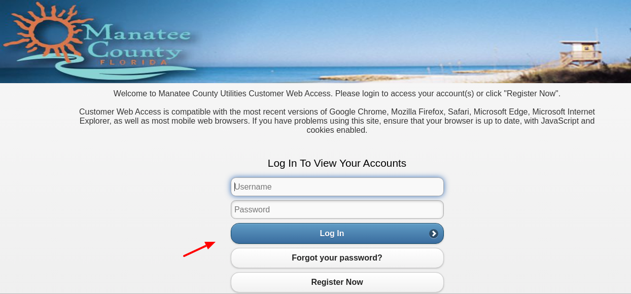 Manatee County Login