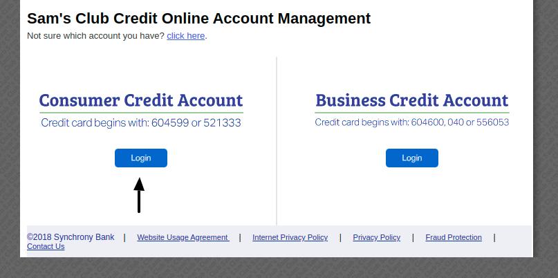 Sam s Club Credit Card Login