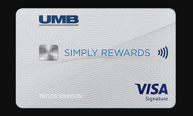 UMB Simply Reward Visa Card Logo