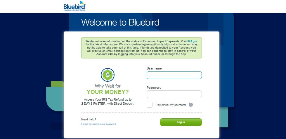 BlueBird Login