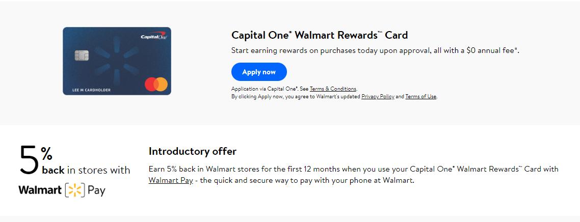 walmartcapitalone  walmart credit login guide