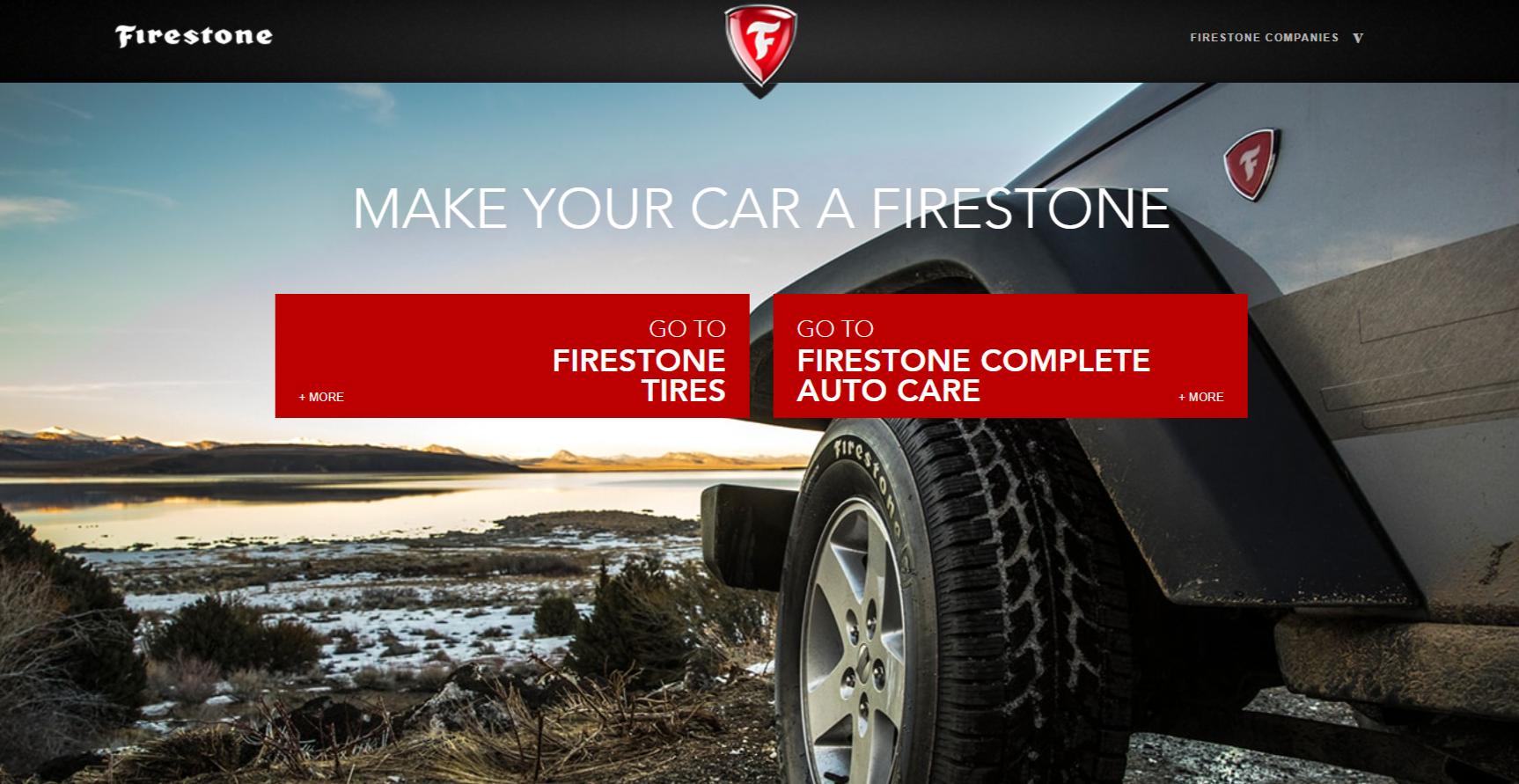 Firestone service survey