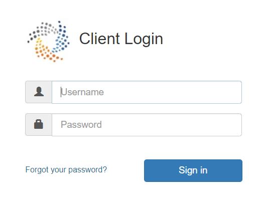 DRN data client login