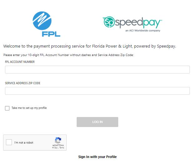 Speedpay FPL