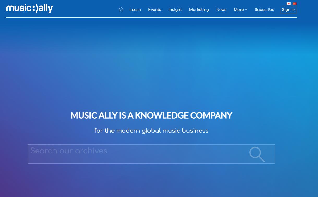 Music-Ally- Portal