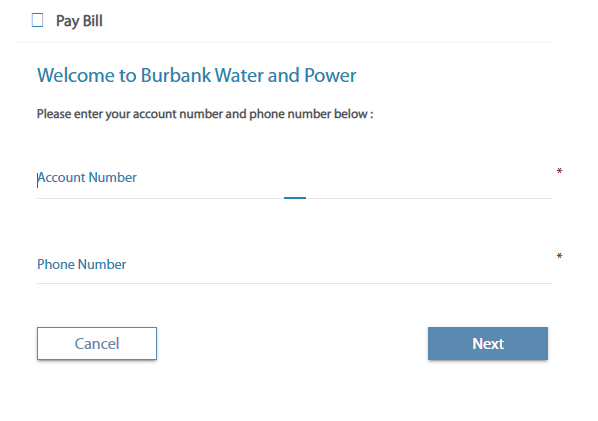 burbank water and power bill pay