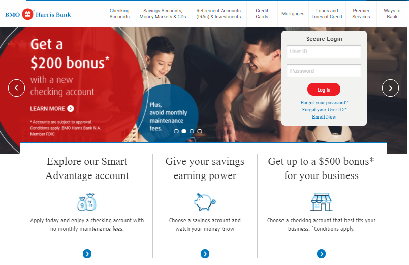 BMO Harris Bill Pay