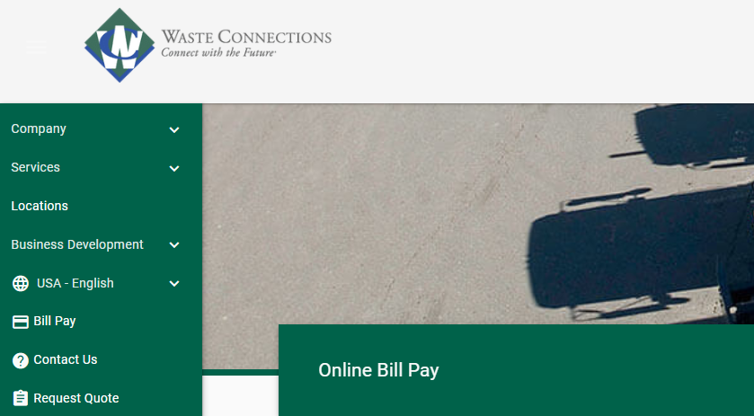 Waste Connections Online Bill Pay