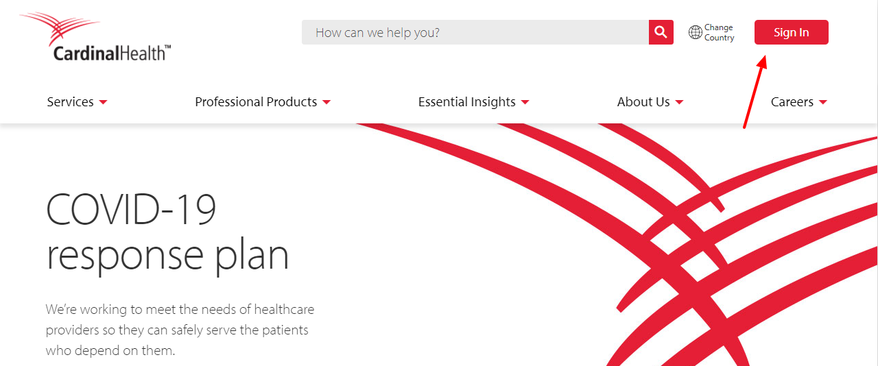 cardinal health login