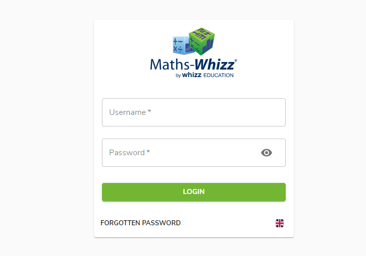 maths whizz login