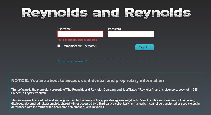 Reynolds Reynolds Logo
