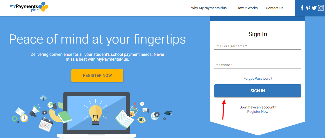 my payments plus login