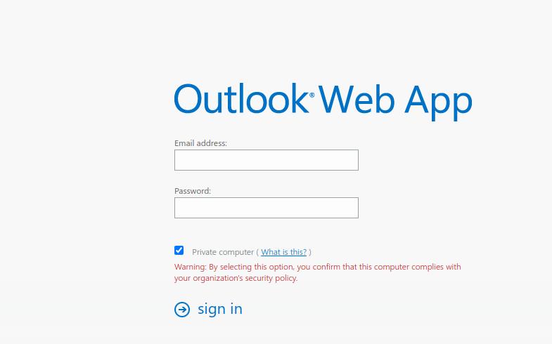 webmail aramark login